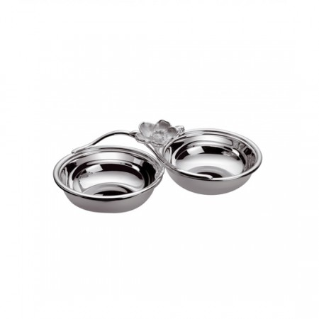 Christofle two compartments anemone cocktail service belle epoque alloy silver 4248115