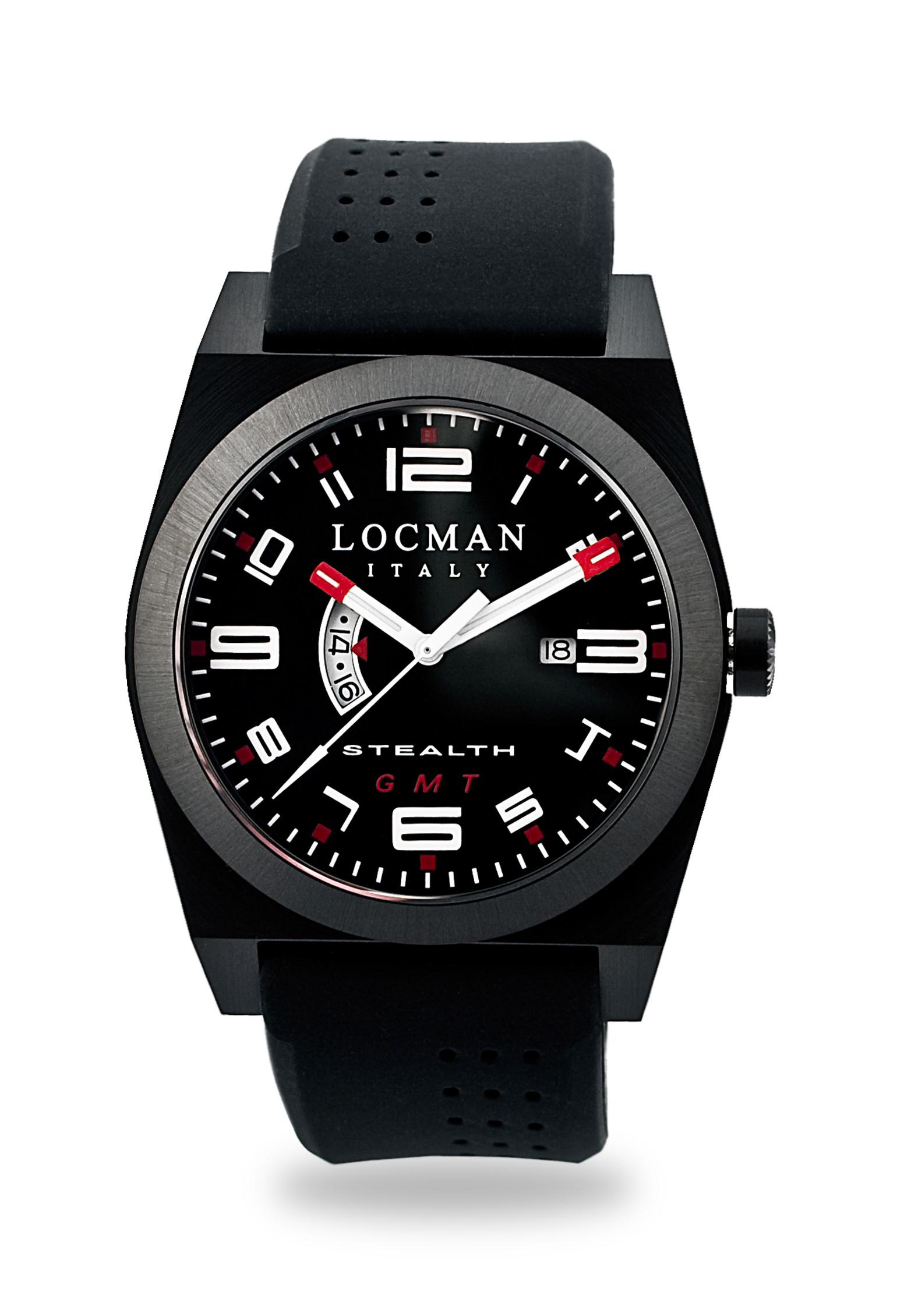 Watch Locman Stealth 0200BKBKFRD1GOK