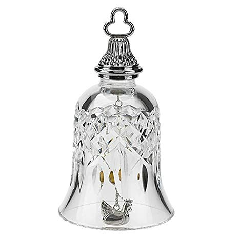 Waterford crystal bell with Gallina 136117