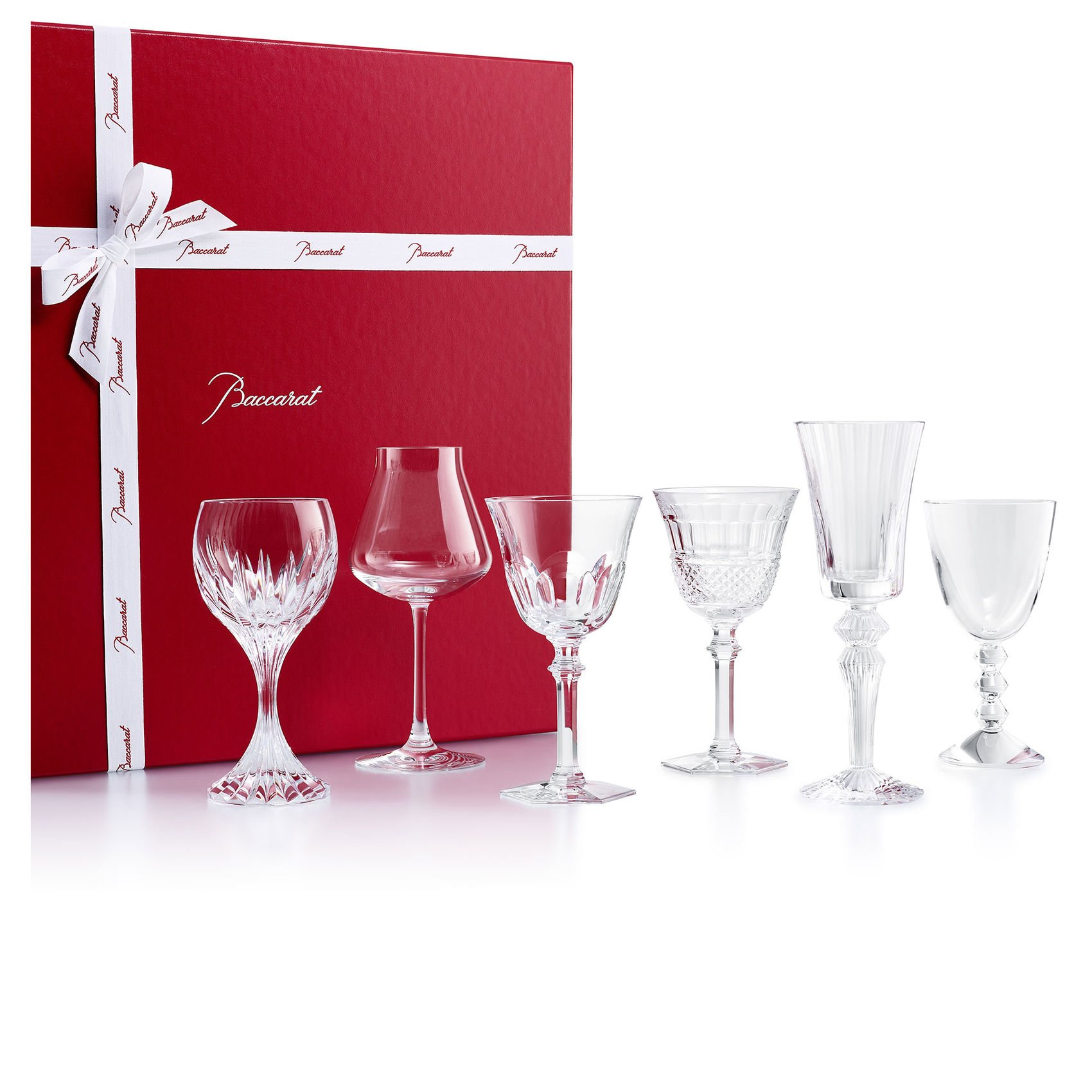 Set 6 bicchieri Baccarat Wine therapy   2812727