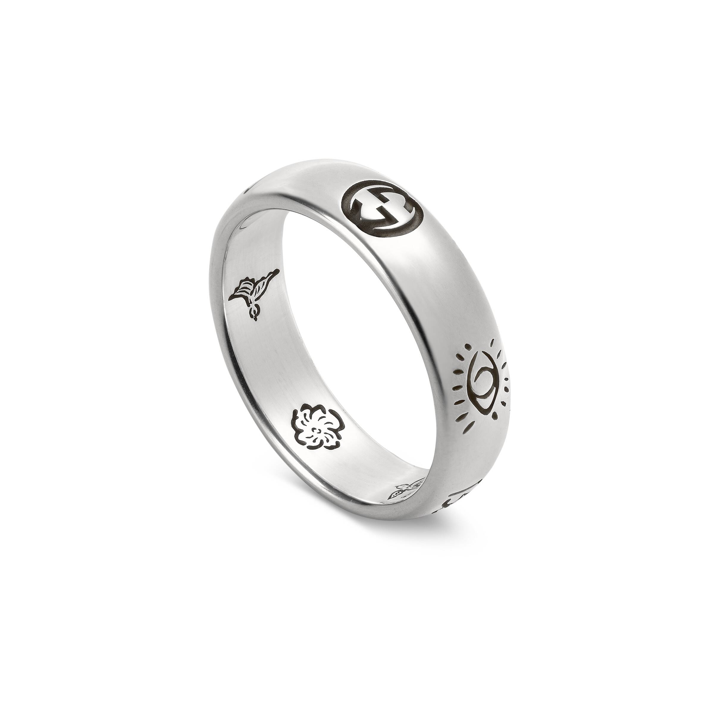 Anello Gucci Blind for Love in argento YBC455247001