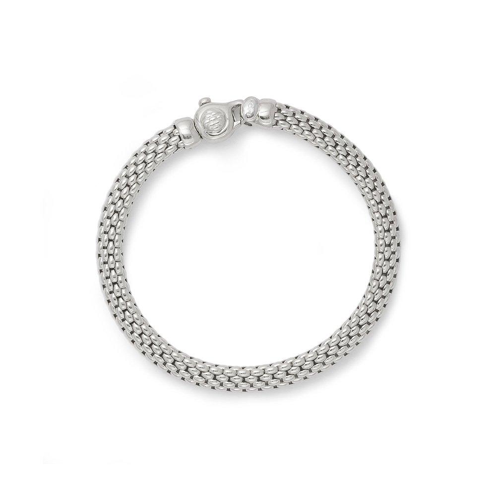 Fope bracelet in white gold 18kt tit 750/000 long 19 cm    591B