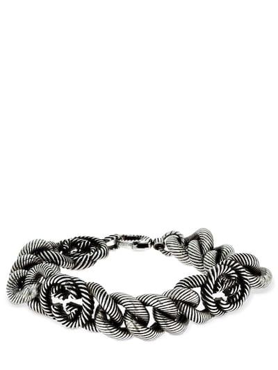 Bracelet Gucci Interlocking G Gourmette YBA599739001018