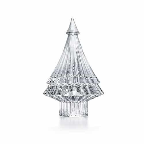 Baccarat Christmas tree decoration in crystal
