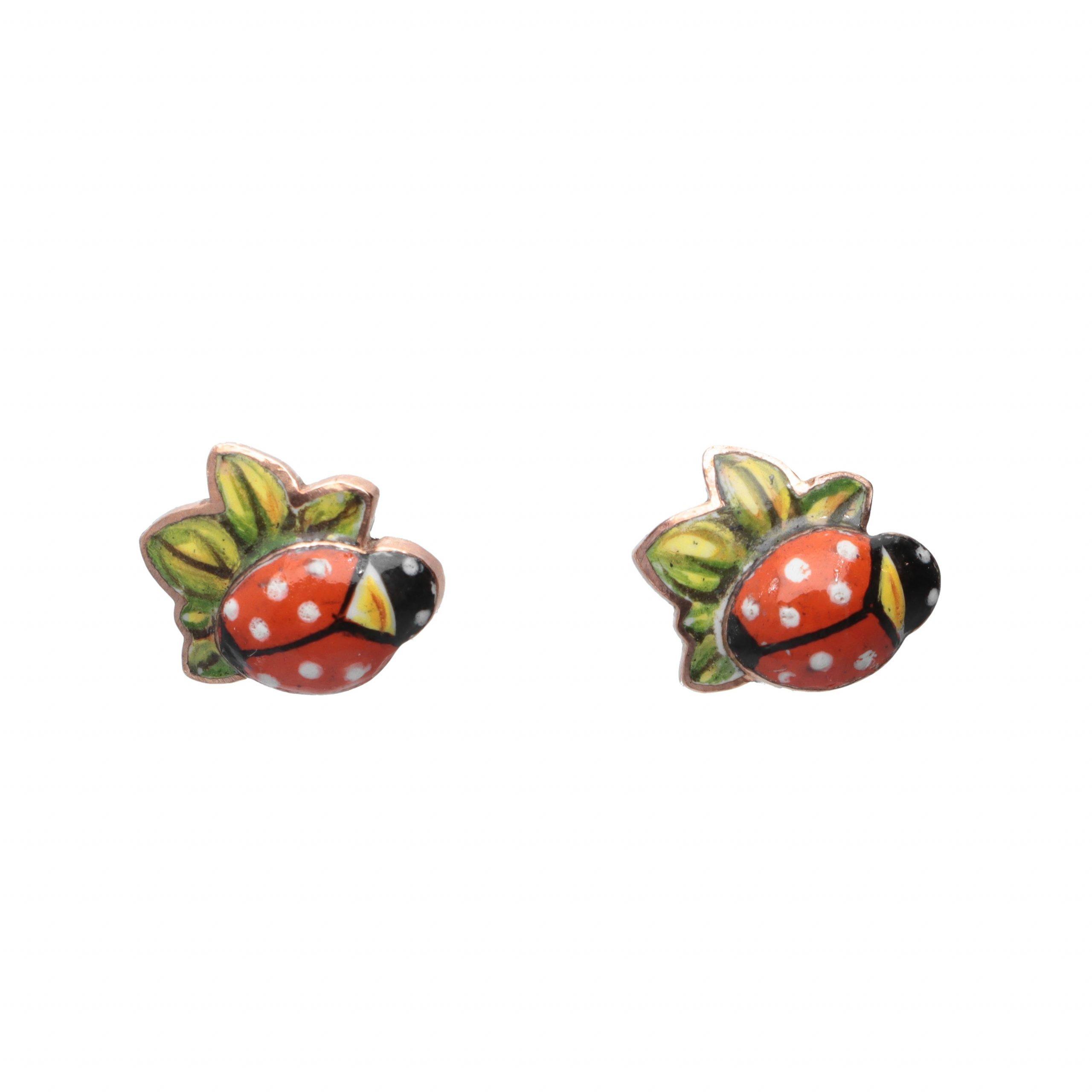 Orecchini Gabriella Rivalta Coccinella                  53825492